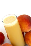 Organic Peach Juice Royalty Free Stock Images