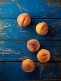 Organic peaches Royalty Free Stock Photo