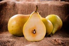 Organic pear Stock Photos