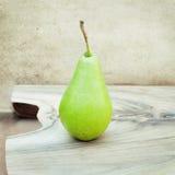 Organic pear. Natural products Royalty Free Stock Image