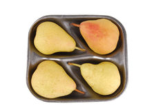 Organic pears isolated Stock Image