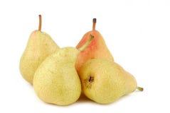 Organic pears isolated Stock Photos
