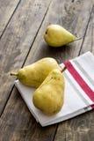 Organic pears Stock Photography