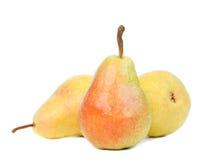 Organic pears Royalty Free Stock Photos