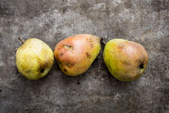 Organic Pears Royalty Free Stock Photos