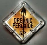 Organic peroxide sign Royalty Free Stock Photos