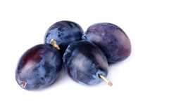 Organic Plums stock photography