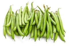 Organic pole beans Stock Image