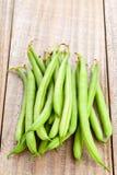 Organic pole beans Royalty Free Stock Photo