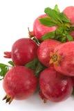 Organic Pomegranates Royalty Free Stock Photos