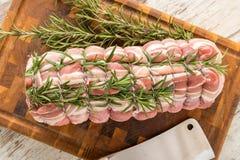 Organic pork chops Royalty Free Stock Photo