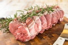 Organic pork chops Royalty Free Stock Photography