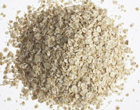 Organic porridge oats Royalty Free Stock Photography