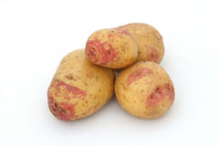 Organic potatoes Royalty Free Stock Photo