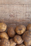 Organic potatoes Royalty Free Stock Image