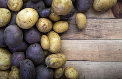 Organic Potatoes Stock Image