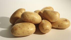 Organic potatoes stock video footage