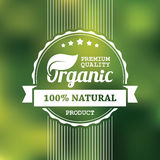 Organic product banner Royalty Free Stock Photography