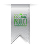Organic product banner sign illustration design Royalty Free Stock Photo