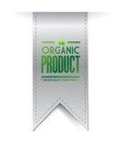 Organic product banner sign illustration design Royalty Free Stock Photo