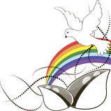 Organic product design, vector illustration Royalty Free Stock Image