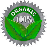 Organic product label Royalty Free Stock Photography