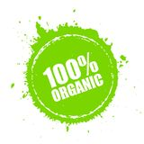 Organic product round vector icon. Organic product round spot vector icon Royalty Free Stock Photo
