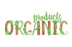 Organic products Stock Photo