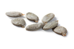 Organic pumpkin seeds Royalty Free Stock Photo