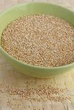 Organic quinoa Stock Photography