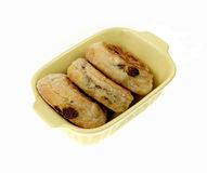 Organic Raisin English Muffins Royalty Free Stock Image