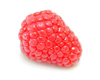 Organic Raspberry Royalty Free Stock Images