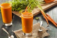Organic Raw Carrot Juice Royalty Free Stock Photo