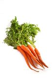 Organic Raw Carrots Stock Photography