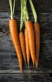 Organic Raw Carrots Stock Photo