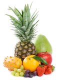 Organic raw fruit Royalty Free Stock Photos