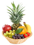 Organic raw fruit isolated Royalty Free Stock Image
