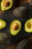 Organic Raw Green Avocados Royalty Free Stock Photos