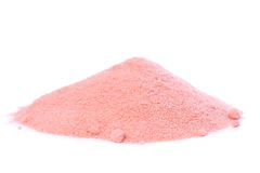 Organic Raw Pomegranate Powder Royalty Free Stock Image