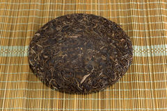 Organic raw Puer tea Chinese Stock Images