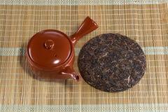 Organic raw Puer tea Chinese Royalty Free Stock Image
