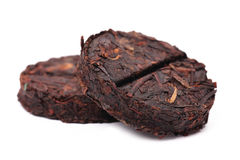 Organic raw Puer tea Chinese. Royalty Free Stock Images