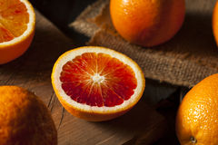 Organic Raw Red Blood Oranges Royalty Free Stock Images