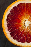 Organic Raw Red Blood Oranges Royalty Free Stock Photography