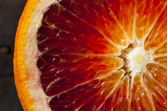 Organic Raw Red Blood Oranges Royalty Free Stock Photos