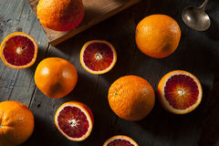 Organic Raw Red Blood Oranges Royalty Free Stock Photo