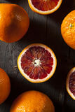 Organic Raw Red Blood Oranges Stock Photos