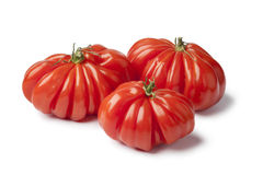 Organic Rebellion tomatoes Royalty Free Stock Images