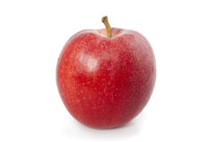 Organic Red Apple Royalty Free Stock Images
