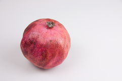 Organic Red Pomegranate Stock Image